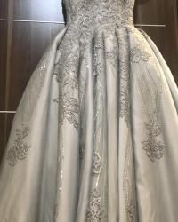 فستان شبكة