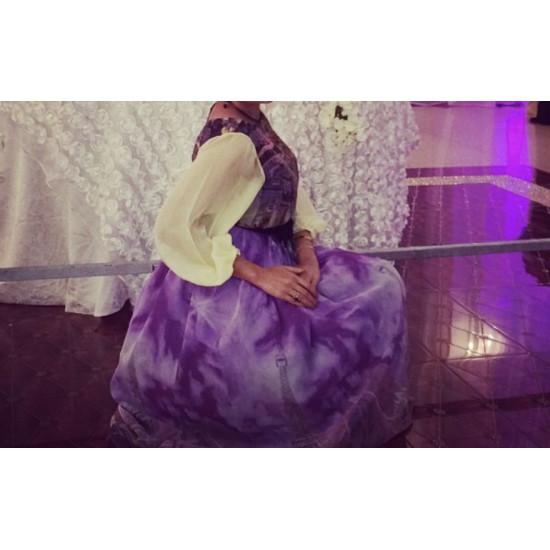 فستان ملون