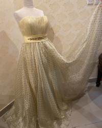 فستان جديد اصفر