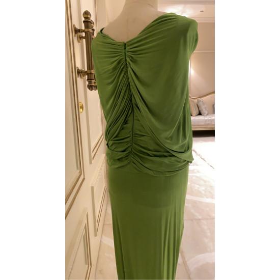 فستان جورسيه اخضر (روباعيات)