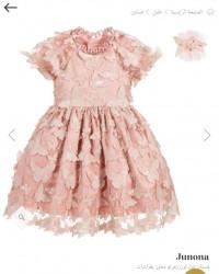 فستان بناتي فراشات