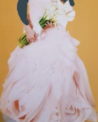 فستان عروسة شبكة