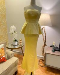 فستان ليموني