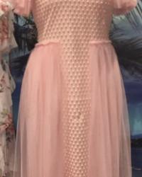 ثوب فستان بياقة