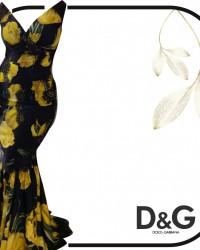 فستان سهره D&G